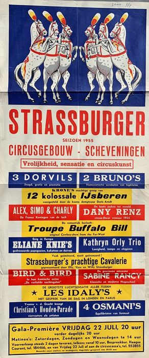 Anonymous - Circus Strassburger - 50 - Anni '50