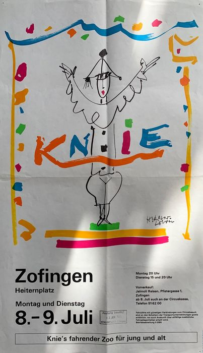 Anonymous - Circus Knie - 75 - Anni '70