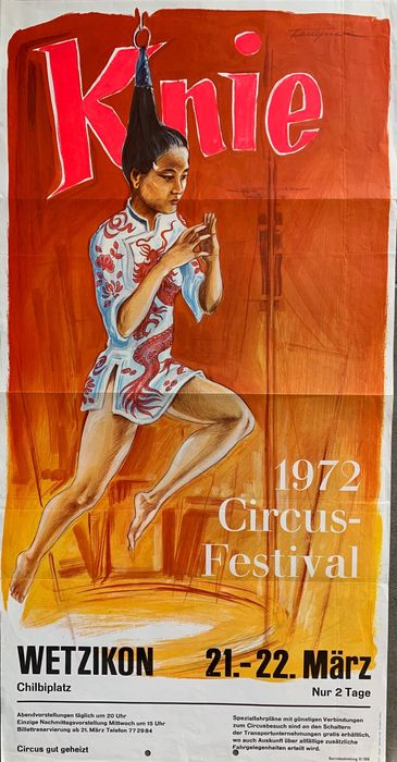 Anonymous - Circus Knie - Circusfestival 1972 - 75 - Anni '70