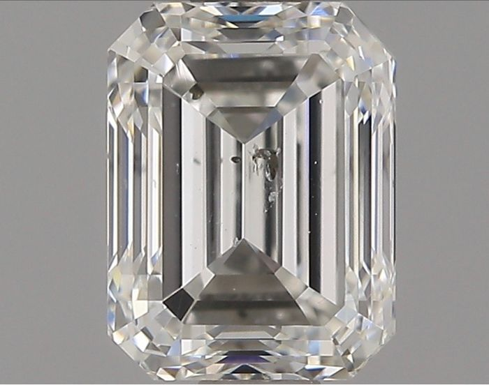 1 pcs Diamond - 0.90 ct - Emerald - G - SI2