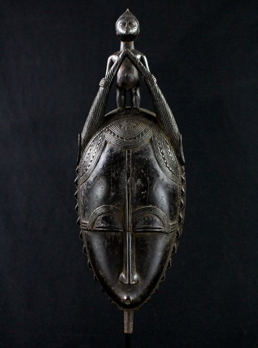Amazing Mask - Wood - Yaure - Côte d'Ivoire