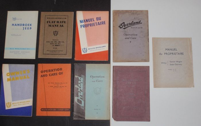 Brochures / catalogues - WILLYS - WILLYS OVERLAND