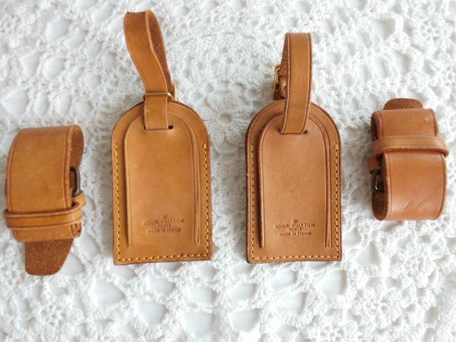 4 lot Louis Vuitton *****No Reserve Price***** - Name Tags & Holders Luggage