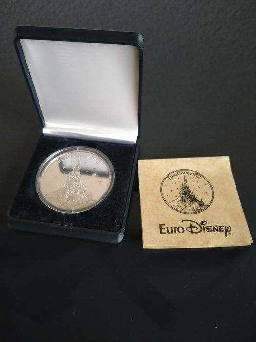 Disney - Euro Disney opening 1992 (silver coin) Limited edition - (1992)