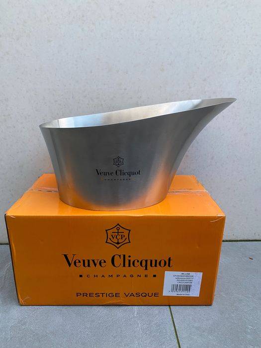 Veuve Clicquot Large Stainless Steel ice Bucket - Champán - 1 Botella (0,75 L)