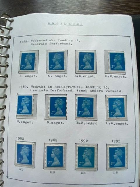 Great Britain 1958/1994 - Specialised collection with Regionals and Machins