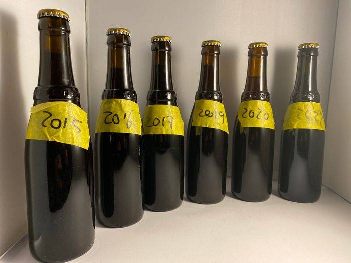 Westvleteren - XII - 2013 through 2019 - 33cl - 6 bottiglie