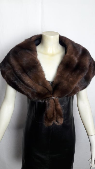 Artisan Furrier - Mink fur - stole - Made in: Italy
