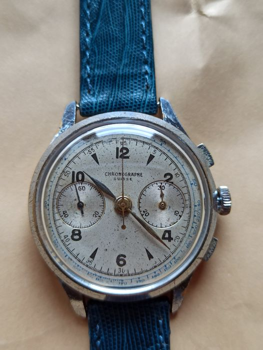 "Chronographe Suisse - Landeron 48 - ""NO RESERVE PRICE"" - Men - 1960-1969"