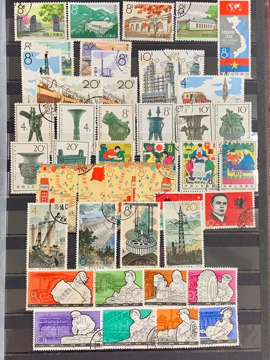 China - Volksrepublik seit 1949 1956/1978 - Attractive collection of China used sets