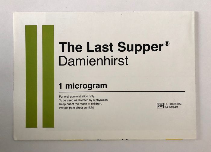 Damien Hirst - The Last Supper - 1999