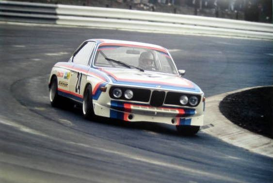 Rare Raceprint (Limited 10/50 Pcs) - BMW Coupe 3.0 CSL #24 Toine Hezemans Winner DRM Nürburgring 1973