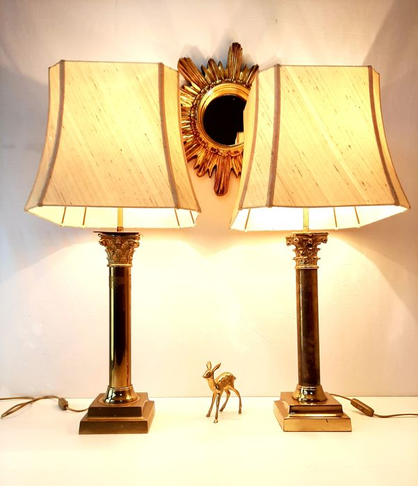 Table lamp, columns (2)