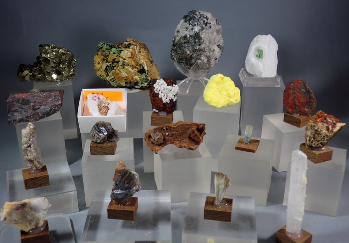 Mineral Collection - 694 g - (18)
