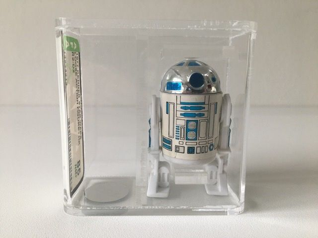 Star Wars - Kenner - Pupazzetto vintage - 1977 - R2-D2 AFA Graded