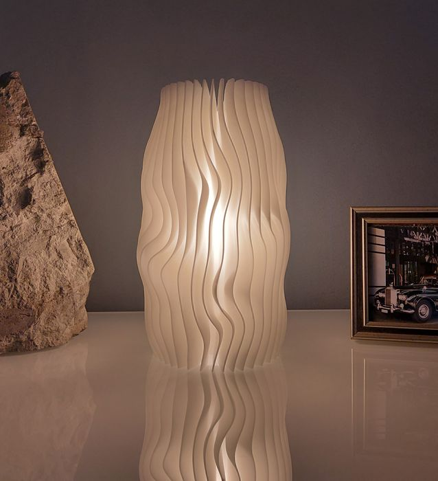 Swiss Design - Desk lamp, Lamp, Table lamp (1) - Glacier #1 Night light Limited edition 1/330