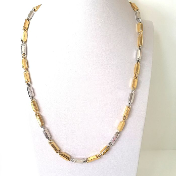 18 kt. Gold, White gold, Yellow gold - Necklace