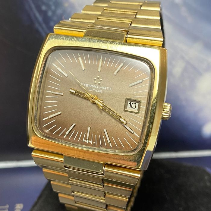 "Eterna-Matic - 2002 Automatic - ""NO RESERVE PRICE"" - 7003453 - Men - 1970-1979"