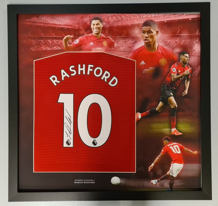Manchester United - English Premier League - Marcus Rashford - Autografo, Maglietta/e