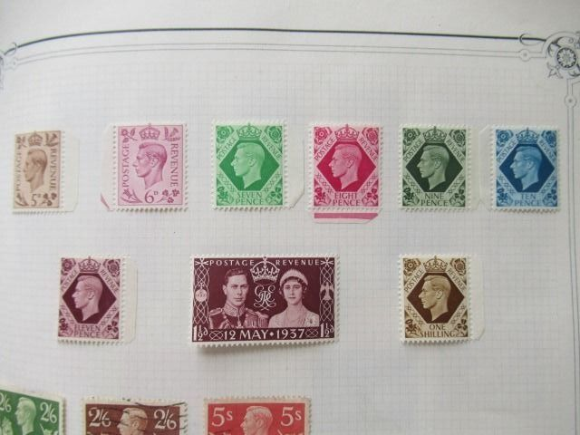 Europe - Collection of stamps, including Greece and England.