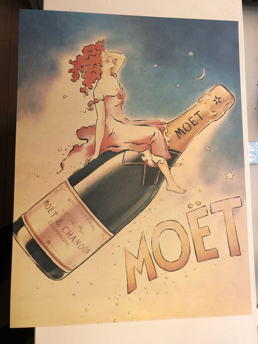 Anonymous - Moët & Chandon - 1980