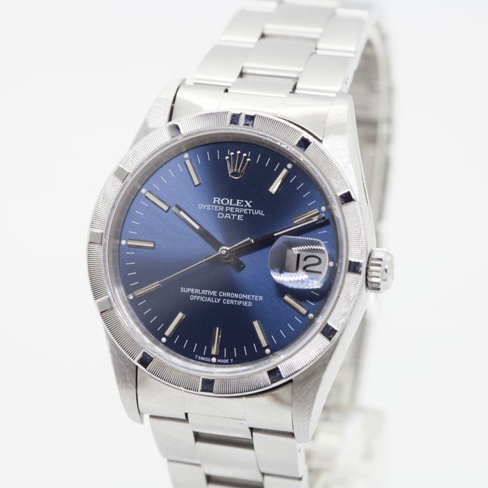 Rolex - Oyster Perpetual Date - 15210 - Unisex - 1990-1999