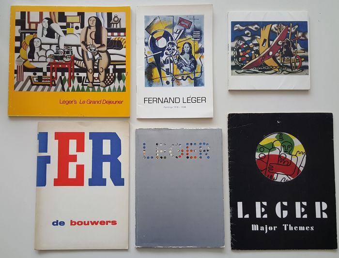 Fernand Léger - Lot with 6 publications - 1957/1985