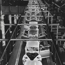 Unknown - Assembly Line, River Rouge Plant, Ford Motor Co., 1946