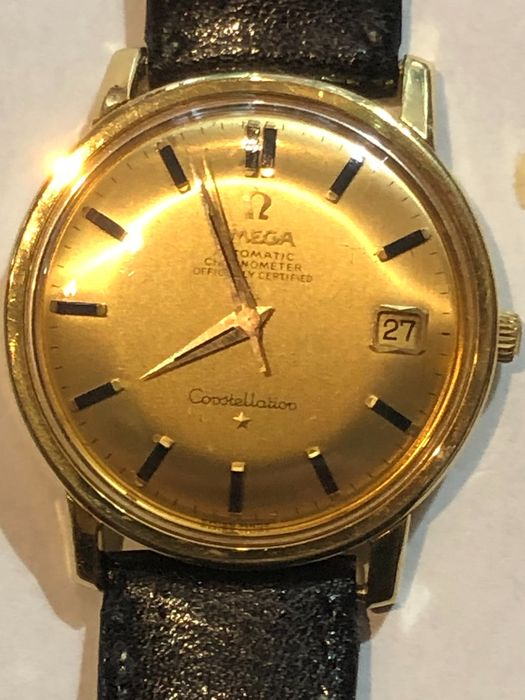 Omega - Constellation 18K Gold - 168.010/11 - Men - 1960-1969