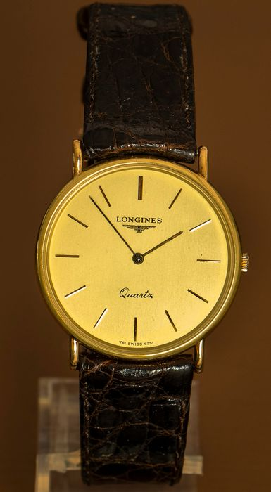 "Longines - Quartz 761 - 6251 - NOS - New Old Stock - ""NO RESERVE PRICE"" - Unisex - 1980-1989"