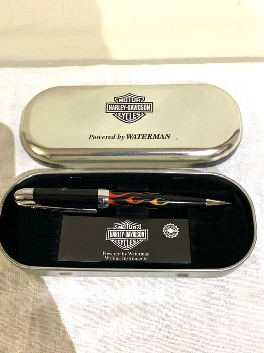 Waterman - Harley davidson waterman roller with case - Collection of 1
