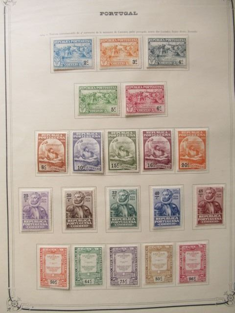 Portugal 1911/1970 - Almost complete collection of stamps