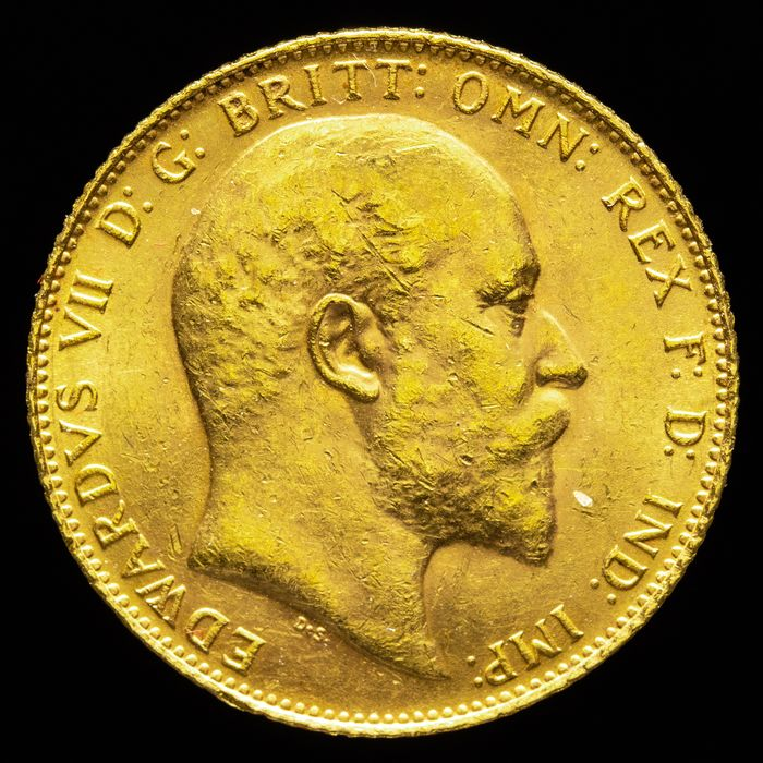 Verenigd Koninkrijk. Sovereign 1906 - Edward VII