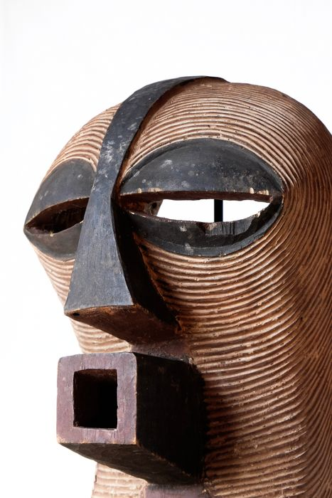 Mask - Wood - Kifwebe - Songye - DR Congo