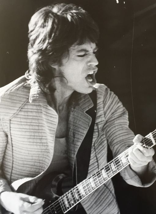 Kenneth Green - Rolling Stones, Candlestick Park Concert Los Angeles 1981