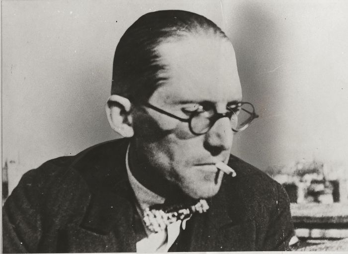 Robinson / Chicago Daily News - Le Corbusier, Swiss-French architect, designer, urban planner, 1963, Unique Photo