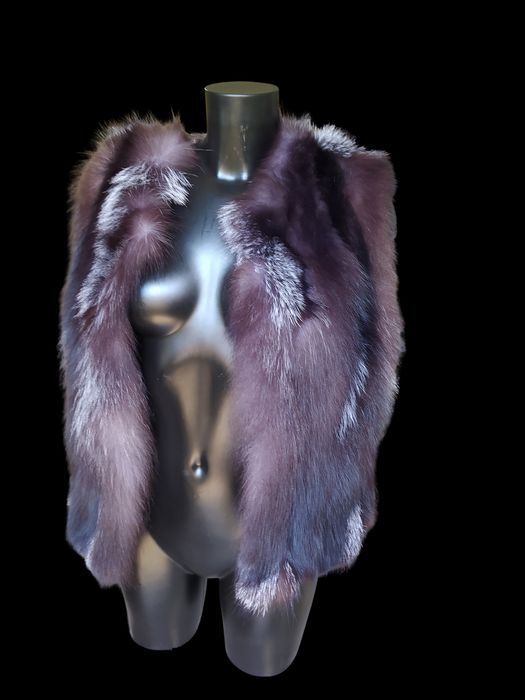 Filippos Furs - Fox fur - Fox Vest - Made in: Greece