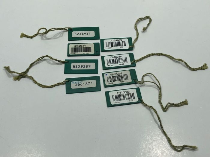 Rolex - 8 pieces / Original classic green model tag - Unisex - 1990-1999