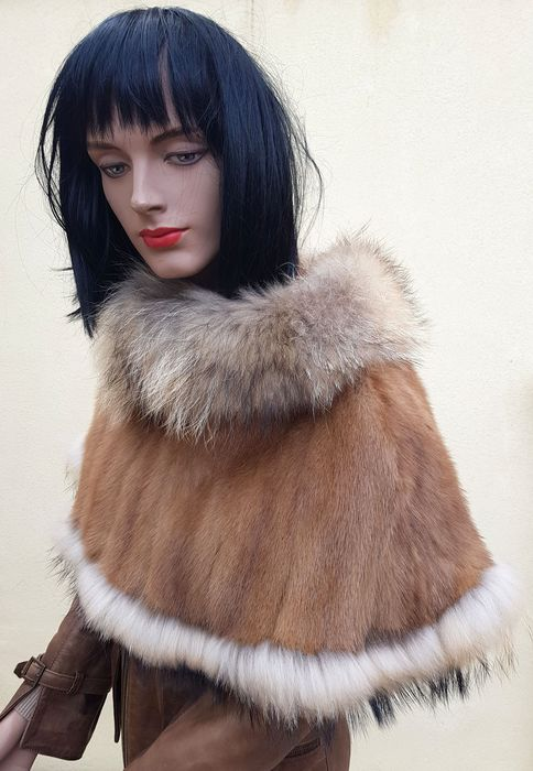 Artisan Furrier - Mink fur - Cape, Fur coat - Made in: Italy