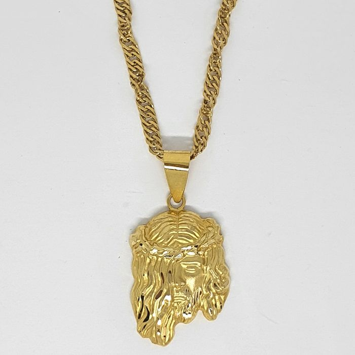 18 kt. Yellow gold - Necklace, Pendant