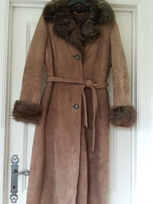 Lamsvachtleer - Lamb skin leather - Fur coat - Made in: Belgium