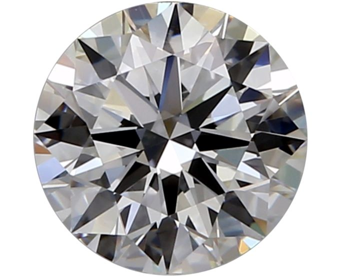 1 pcs Diamond - 1.00 ct - Round - G - VS2