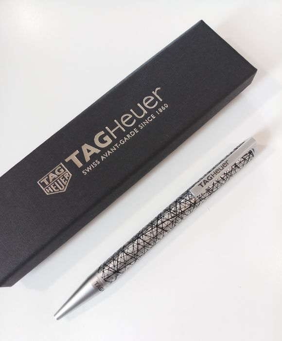 Tag Heuer 2019 with box - concessionaire item / Pe - Ballpoint - Limited designed Twist Art / Avant Garde of 1