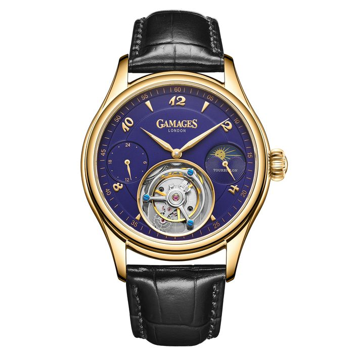 Gamages of London Watches - Limited Edition Hand Assembled Tourbillon Automatic  - GA0053 - Men - 2011-present