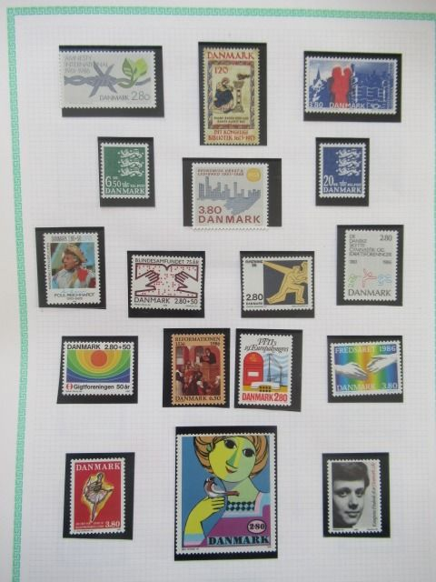 Europe - Collection of stamps.