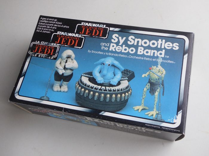 Star Wars - Return of the Jedi - Sy Snootles and the Rebo band - Statuetta/e Complete in box - vintage - 1983