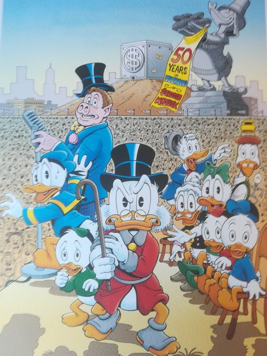 Hand-signed print by Don Rosa. NO RESERVE! - A Little Something Special - Page volante - Autre - (2019)