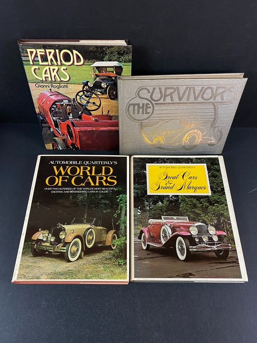 Libri - Great Cars & Grand Marques + World of Cars + Period Cars + The Survivor - Auto Classiche