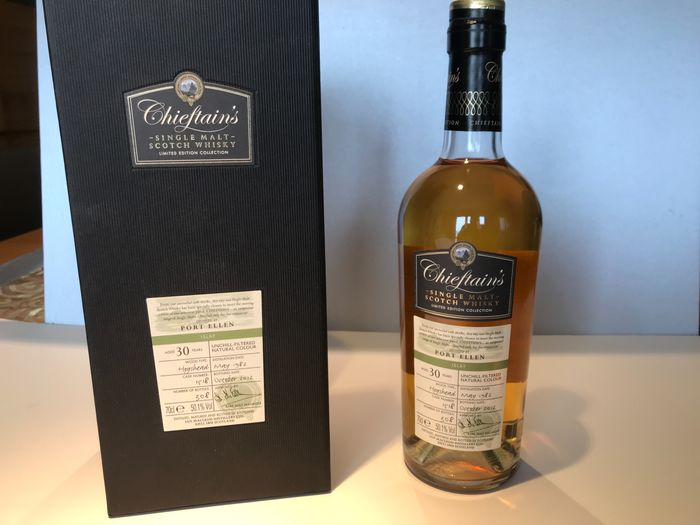 Port Ellen 1982 30 years old - Chieftains - 70cl