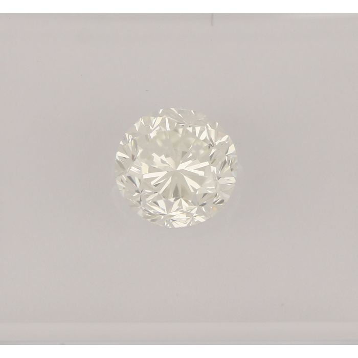 1 pcs Diamant - 1.02 ct - Briljant - G - VS2